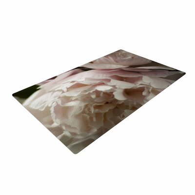 Cristina Mitchell Peonies Pink/White Area Rug Rug Size: 2 x 3