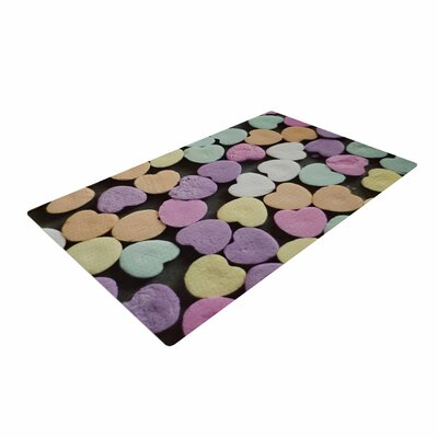 Cristina Mitchell Candy Love Photography Pink Area Rug Rug Size: 2 x 3