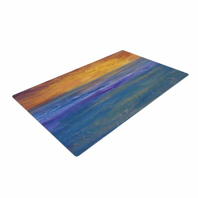 Cyndi Steen Sky on Fire Orange Area Rug