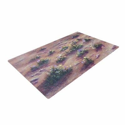 Cyndi Steen Desert Weeds Tan/Lavender Area Rug