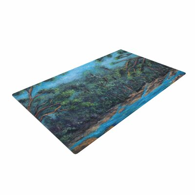 Cyndi Steen Dont Cut Me Down Blue/Nature Area Rug