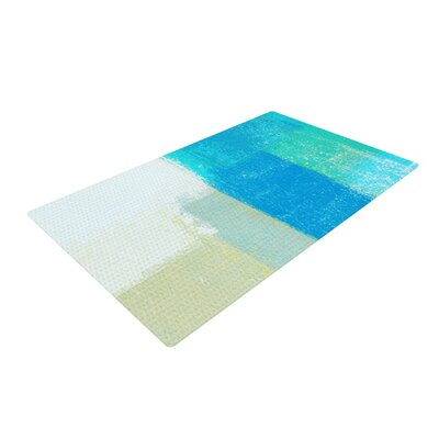 CarolLynn Tice Shallow Cool Blues Area Rug Rug Size: 2 x 3