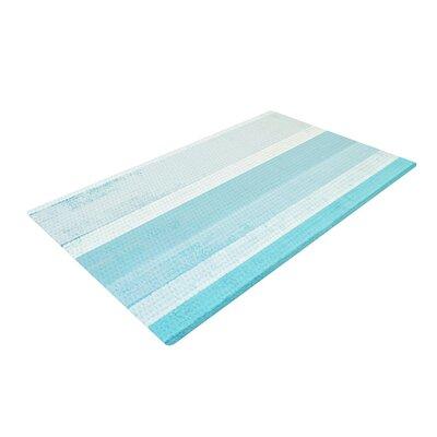 CarolLynn Tice Waves Blue/Aqua Area Rug Rug Size: 4 x 6
