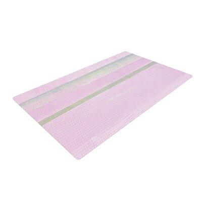 CarolLynn Tice Yogurt Pink/Gray Area Rug Rug Size: 4 x 6