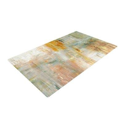 CarolLynn Tice Coffee Paint Brown Area Rug Rug Size: 2 x 3