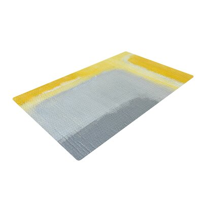 CarolLynn Tice Inspired Grey/Yellow Area Rug Rug Size: 2 x 3