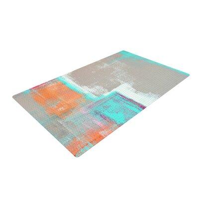 CarolLynn Tice Gifted Gray/Aqua Area Rug Rug Size: 2 x 3