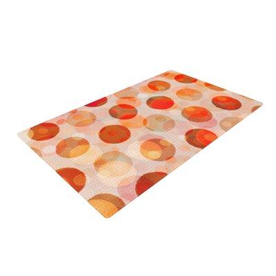 Daisy Beatrice Shepherds Delight Orange Area Rug Rug Size: 4 x 6