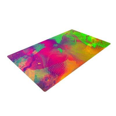 Danny Ivan Austra Pink/Green Area Rug Rug Size: 2 x 3