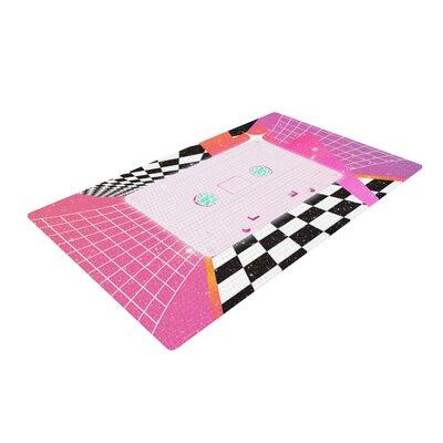 Danny Ivan K7 Casette Pink Area Rug Rug Size: 2 x 3