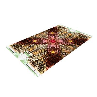 Danii Pollehn Viereck Geometric Black/Brown Area Rug Rug Size: 2 x 3