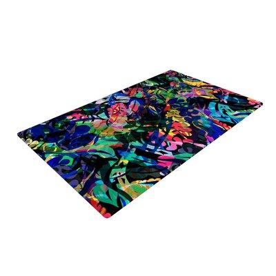 Gabriela Fuente Flora Splash Dark Rainbow Area Rug Rug Size: 4 x 6