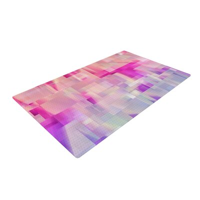 Gabriela Fuente Winter Flow Pink/Purple Area Rug Rug Size: 2 x 3