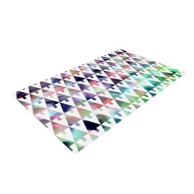 Gabriela Fuente X-Mas Party Geometric Pastel Area Rug Rug Size: 2 x 3