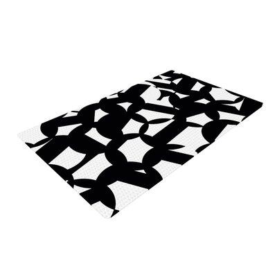 Gabriela Fuente Geo Chic Black/White Area Rug Rug Size: 2 x 3