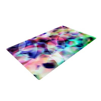 Gabriela Fuente Party Abstract Pastel Area Rug Rug Size: 2 x 3