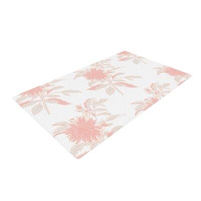 Gukuuki Fluers White/Pastel Area Rug Rug Size: 4 x 6
