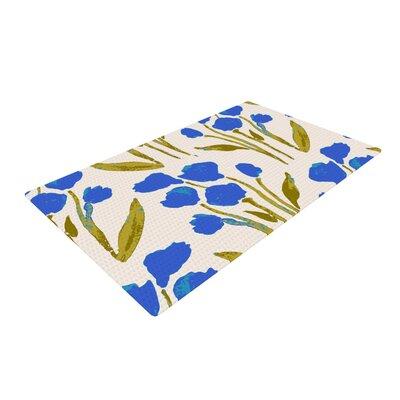 Gukuuki Shirley Gem Blue/Green Area Rug Rug Size: 4 x 6