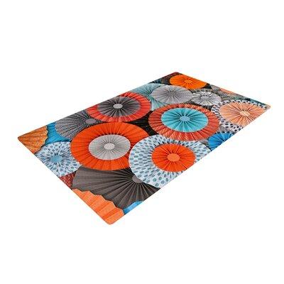 Heidi Jennings Breaking Free Orange/Blue Area Rug Rug Size: 4 x 6