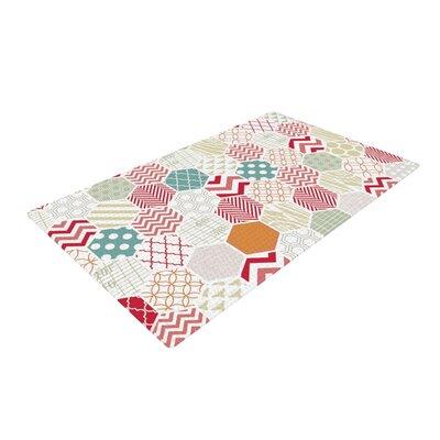 Heidi Jennings Geometric Pastel Area Rug Rug Size: 2 x 3