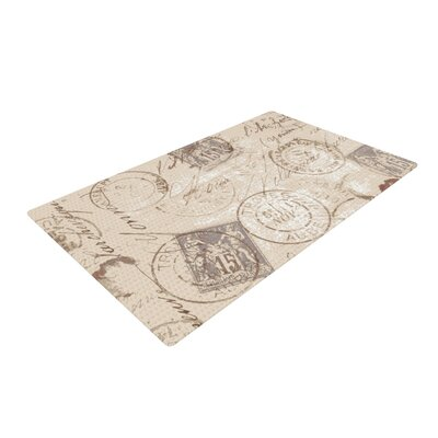 Heidi Jennings World Traveler Brown Area Rug Rug Size: 4 x 6