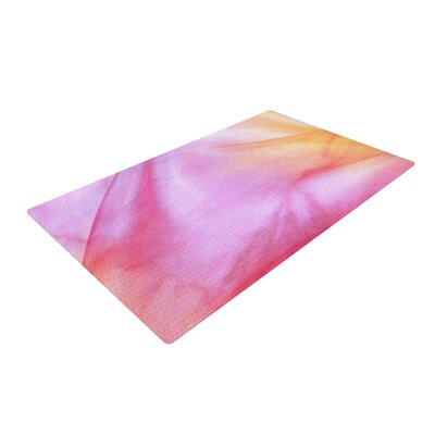 Heidi Jennings Haze Pink/Orange/Pastel Area Rug Rug Size: 4 x 6