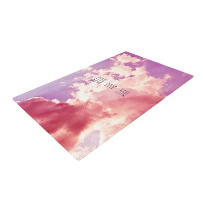 Iris Lehnhardt Seize the Day Pink/Purple Area Rug Rug Size: 4 x 6
