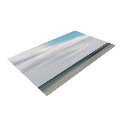 Iris Lehnhardt June Beach Gray/Blue Area Rug Rug Size: 2 x 3