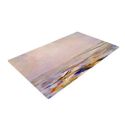 Iris Lehnhardt Hazy Sunrise Pink Area Rug Rug Size: 2 x 3
