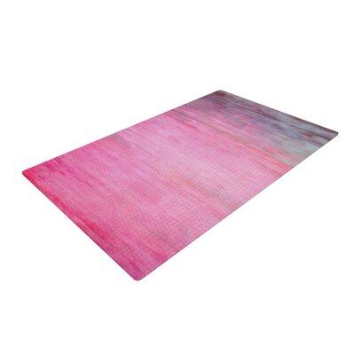 Iris Lehnhardt Wash Paint Blush/Pink Area Rug Rug Size: 2 x 3