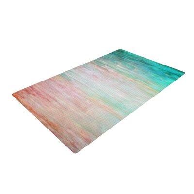 Iris Lehnhardt Wash Turquoise/Teal Area Rug Rug Size: 2 x 3