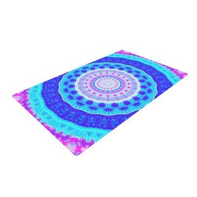 Iris Lehnhardt Summer Pink/Blue Area Rug Rug Size: 2 x 3
