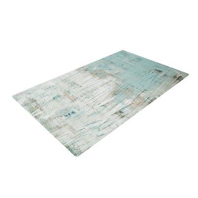 Iris Lehnhardt Bluish Neutral Blue/Green Area Rug Rug Size: 2 x 3