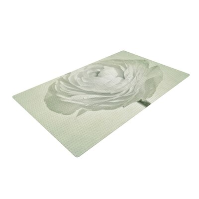 Iris Lehnhardt Whity Floral Gray Area Rug Rug Size: 4 x 6