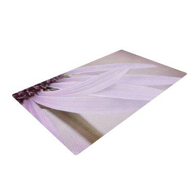Iris Lehnhardt Windswept Floral Lavender Area Rug Rug Size: 2 x 3