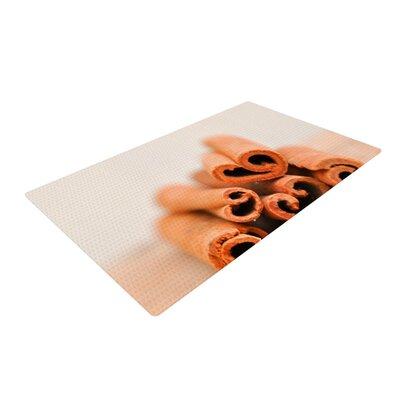 Iris Lehnhardt Cinnamon Brown Area Rug Rug Size: 2 x 3