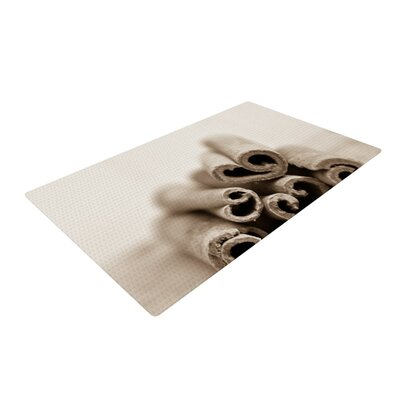 Iris Lehnhardt Cinnamon Sepia Gray Area Rug Rug Size: 4 x 6