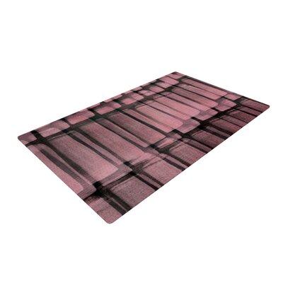 Iris Lehnhardt Reddish Pink Area Rug Rug Size: 2 x 3
