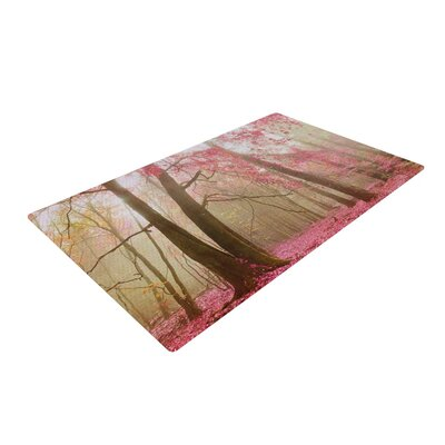 Iris Lehnhardt Atmospheric Autumn Pink Area Rug Rug Size: 2 x 3