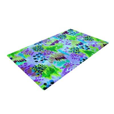 Ebi Emporium Lagoon Love Lavender/Green Area Rug Rug Size: 2 x 3