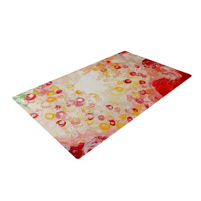 Ebi Emporium Summer Days Red/Tan Area Rug Rug Size: 2 x 3