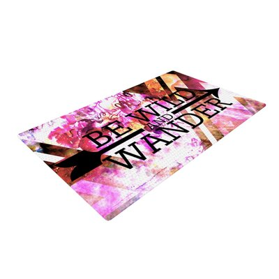 Ebi Emporium Be Wild and Wander Pink Area Rug Rug Size: 2 x 3