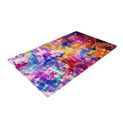 Ebi Emporium Sky Risers Glam Pink Area Rug Rug Size: 2 x 3