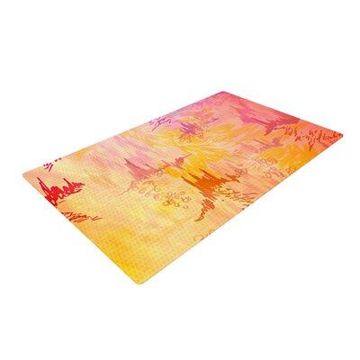 Ebi Emporium Sky Risers II Pink/Yellow Area Rug Rug Size: 2 x 3