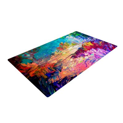 Ebi Emporium Welcome to Utopia Rainbow Area Rug Rug Size: 4 x 6