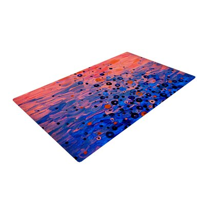 Ebi Emporium What Goes Up Blue/Pink Area Rug Rug Size: 2 x 3