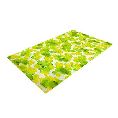 Ebi Emporium Giraffe Spots Green/Yellow Area Rug Rug Size: 2 x 3