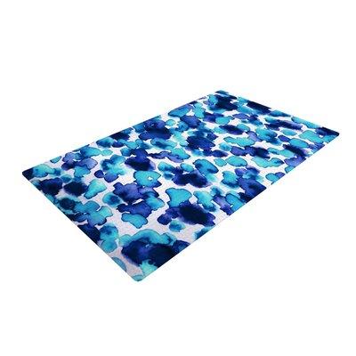 Ebi Emporium Giraffe Spots Blue/Aqua Area Rug Rug Size: 2 x 3