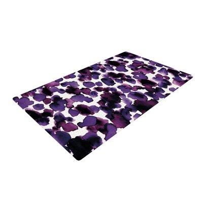 Ebi Emporium Giraffe Spots Purple Area Rug Rug Size: 2 x 3
