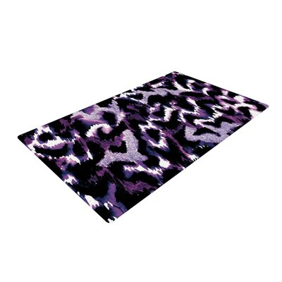 Ebi Emporium Wild at Heart Purple Area Rug Rug Size: 2 x 3